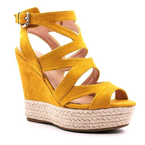 Angkorly - Chaussure Mode Sandale Mule Hauts Talons...
