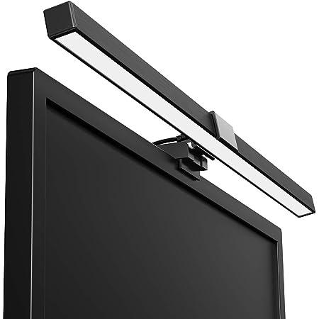 LED掛式モニターライト USB給電 長さ50.5cm 78枚高色精度ランプ採用 演色性Ra≥90 3種の色温度と5段階の明るさを調節可能 プロ級の次世帯スクリーンライト