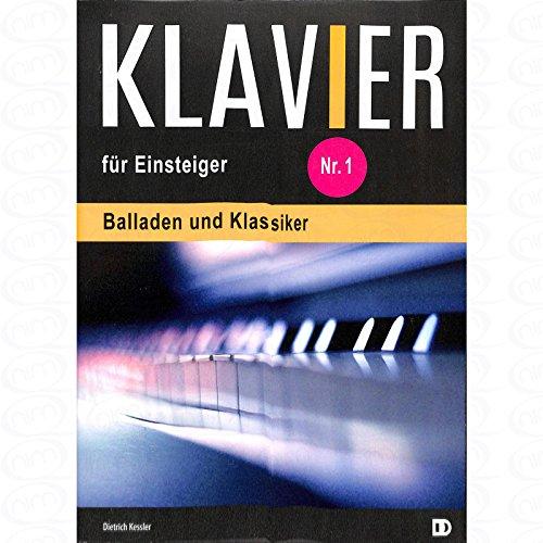 Klavier fuer Einsteiger - arrangiert für Klavier [Noten/Sheetmusic] Komponist : KESSLER DIETRICH