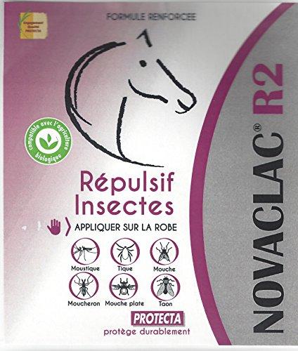 NOVACLAC®R2 pour cheval répulsif naturel mouche taons et mouche plates