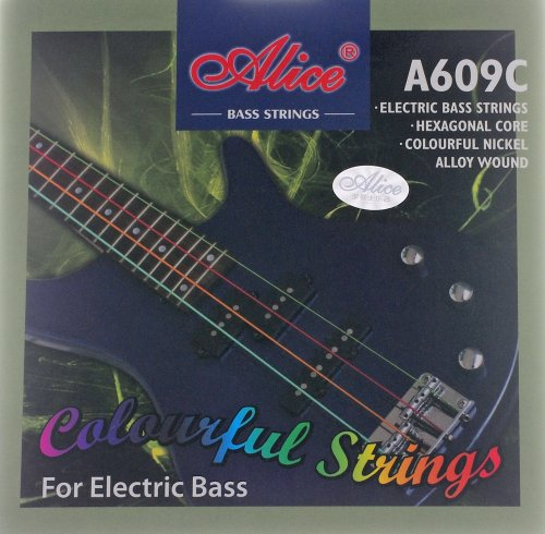 Alice - Traje de neopreno para cuerdas bajo eléctrico, colorido, 609C