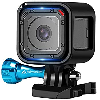 MiPremium Frame Mount Housing Case for GoPro Hero Session 4 & 5 Skeleton Cover Shell Cage Accessories Kit with Aluminium Screw & Quick Release Buckle Socket Accessory for Hero4 Hero5 Session Camera