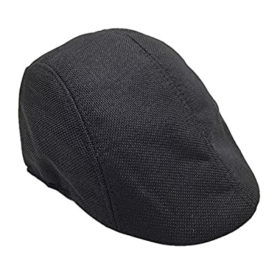 BCDshop Beret Newsboy Hat Men Women Flat Gatsby Ivy Golf Cap Retro Visor Sunhat
