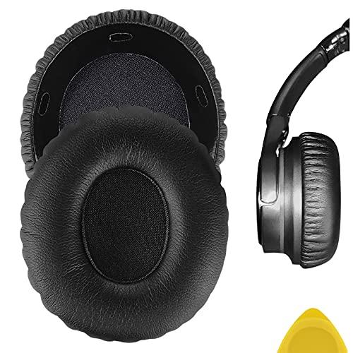 Geekria Ersatz-Ohrpolster für Sony-Kopfhörer MDR-10RC, Ersatzteile, Schwarz