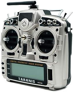 Aihifly Transmisor Remoto Taranis X9D Plus 2019 2.4G 24CH Acceso transmisor D16 ACCST Soporta analizador de Espectro Functionfor for RC Aviones no tripulados (Color : Plata, tamaño : FCC Version)