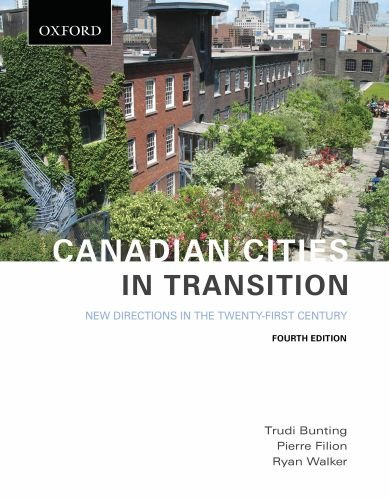 Canadian Cities in Transition: New Directions in the...