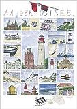 1art1 Sabine Gerke - An Der Ostsee Poster Kunstdruck 70 x