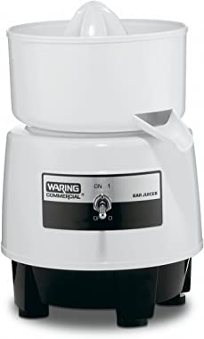 Waring Commercial BJ120C Citrus Bar Juicer with Compact Design, 1-Quart