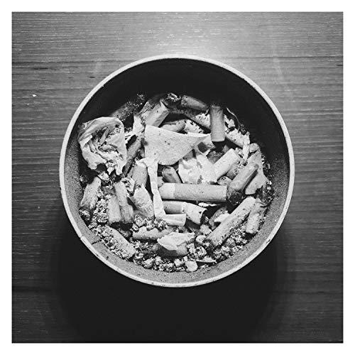 Decorazione Posacenere per Esterno da tavolo Portacenere Posacenere for le sigarette sigari Color : Red auto la personalit/à creativa al chiuso allaperto Posacenere Ceramica con coperchio