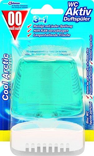 00 null null Toiletten-Duftspüler, Für Frische und Sauberkeit bis zu 3 Wochen, Cool Arctic-Duft, 55 ml, WC Activ 3in1