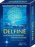 Delfine - Lichtvolle Botschaften für uns Menschen: 56 Karten mit Begleitbuch - Jeanne Ruland
