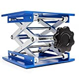 Lift Table Aluminium Oxide Lab Stand Lifter Scientific Scissor Lifting Jack Platform (8'x8')