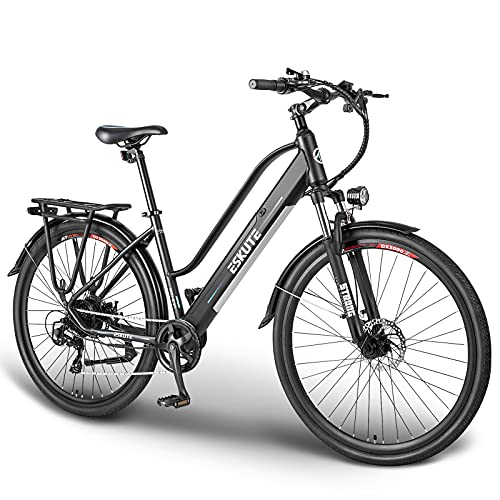 """ESKUTE 28"""" Vélo Electrique 250W Vélo de Ville, Vélo à Assist"""
