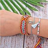 N/A NA Crystal Heart Charm Pulseras y brazaletes Pulseras de Oro para Mujer Joyas Pulseira Feminina