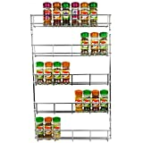Best Spice Racks - Ossian Chrome Spice Rack - High Quality Wall Review