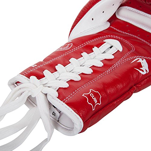 Venum Giant 3.0 Boxing Gloves with Laces, Red, 14 oz