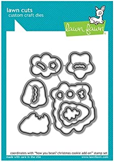Lawn Fawn Cut Set - How You Bean? Christmas Cookie Add-On