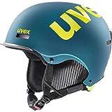 uvex Unisex- Erwachsene, hlmt 50 Skihelm, deep emerald mat, 55-59 cm