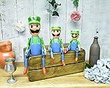 Weird Or Wonderful Luigi - Estante de madera para marionetas (25 cm), diseño de Super Mario Nintendo