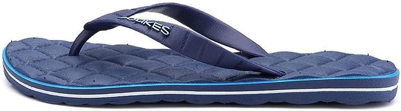 män s s s Sandals, kvinnor and Mans Thong Slipper Flip Flop Leisure strand Sandaler (Färg  Mörkblått, Storlek  9MUS)  bra priser