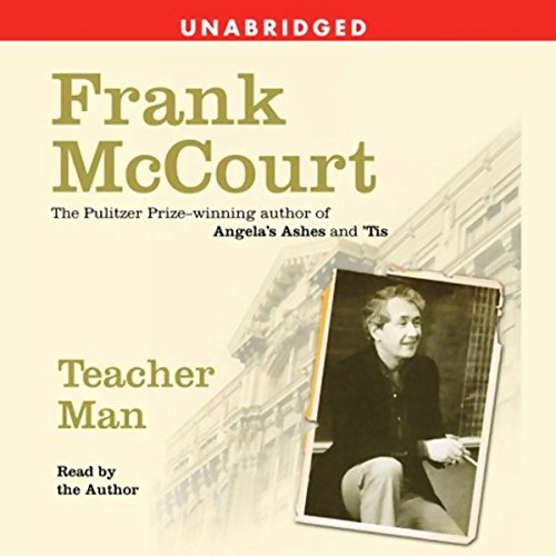 Teacher Man audiobook cover art