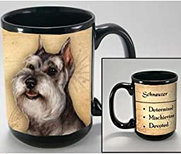 My Faithful Friend Schnauzer (Cropped) Coffee Cup Mug PET Dog Gift