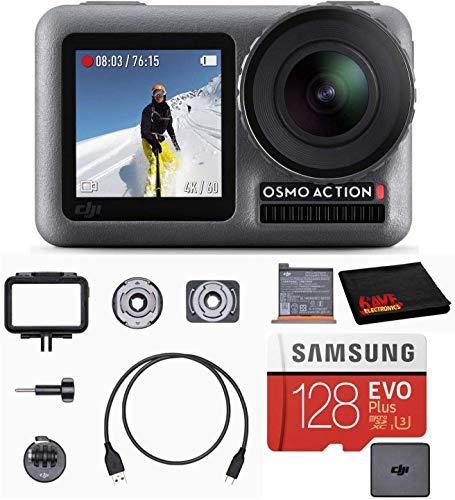 DJI OSMO Action Cam Digital Camera Bundle with 2...
