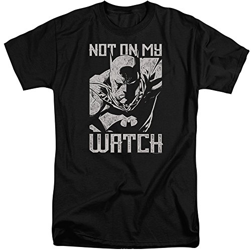 Batman – Camiseta para hombre grande negro XXL