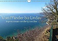 Vom Pfaender nach Lindau (Wandkalender 2022 DIN A4 quer): Eine Wanderung vom Berg zum See. (Monatskalender, 14 Seiten )