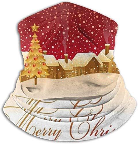 Python Mix Weihnachten Schneeflocke Dorf Unisex Mikrofaser Halswärmer Kopfbedeckung Gesicht Schal Maske Für Winter Kaltwetter Maske Bandana Sturmhaube