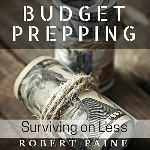 Budget Prepping audiobook cover art