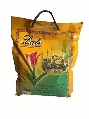 Lale Basmati Reis 5 Kg für Reiskocher und Reiskuchen / Reiskruste (Tahdig)