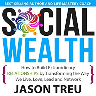 Social Wealth audiobook cover art