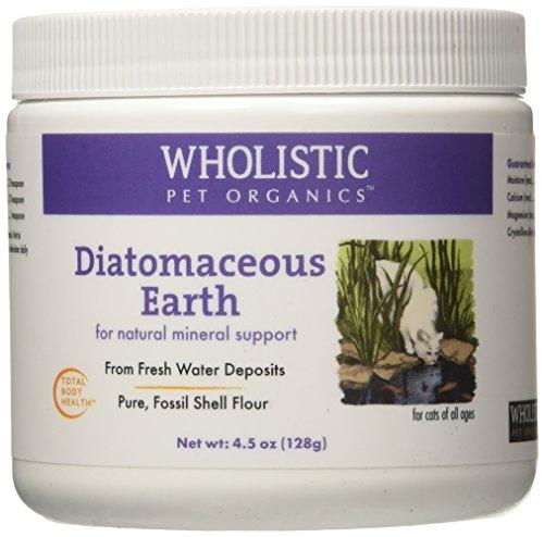 Wholistic Pet Organics Diatomaceous Earth Supplement, 4.5 oz