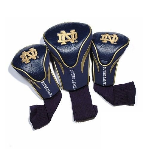 NCAA Notre Dame Fighting Irish 3 Pack Contour Golf Club Headcover