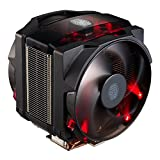 Cooler Master Air Maker 8 High-end CPU Air Cooler w/ 3D Vapor Chamber Base, 8 Heatpipes, Aluminum Fins, Dual Silencio FP 120mm Fans, Red