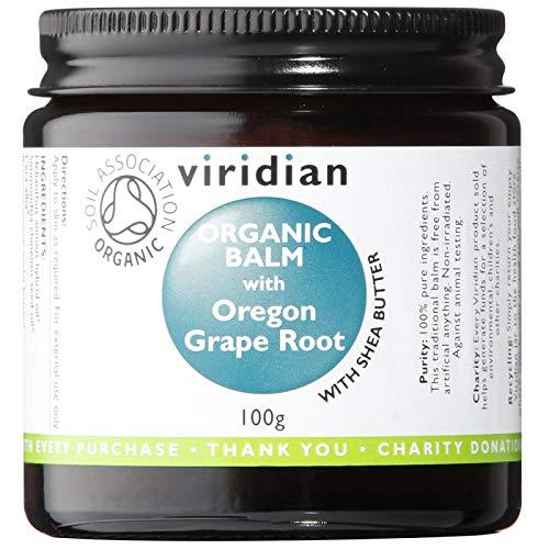 Mahonia Viridian organique Balm nouveaux, 100 g