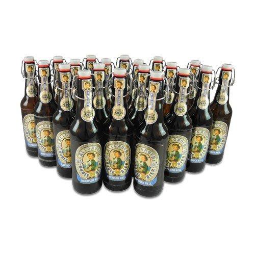20 Flaschen Allgäuer Büble Bier Bayrisch hell 4,7% vol. a 500ml inclusiv 3.00€ MEHRWEG Pfand Bügelflaschen