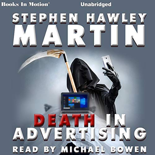 Death in Advertising audiobook cover art
