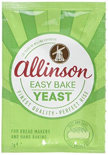 Allinsons Easy Bake Yeast Pack 7g (Pack of 48)
