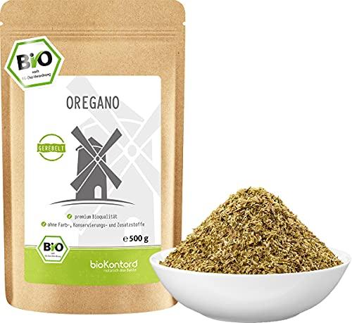 Oregano BIO gerebelt 500 g - Gewürz - Origanum vulgare 100 % naturrein ohne Zusätze - aus kontrolliert biologischem Anbau von bioKontor