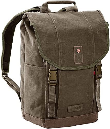 Wenger Foix 16'' Laptop Backpack with Tablet Pocket - Olive Green