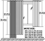 Zoom IMG-1 lwxbjx tende oscuranti camera da