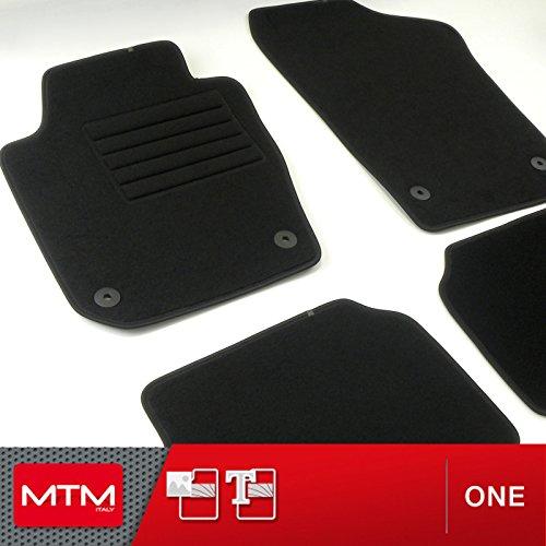 MTM Tapis de Sol Ibiza IV (6J) Depuis 05.2008- sur Mesure en Velours Noir, cod. One fr1894