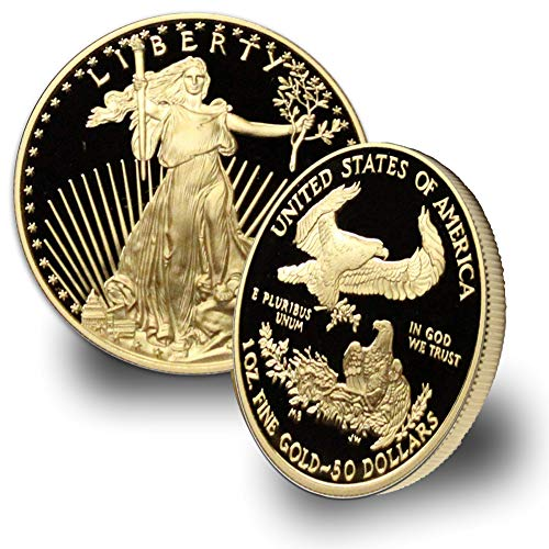 1986 – Present (Random Year) 1oz American Gold Eagle G$50 Proof