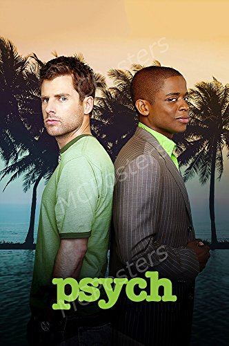 MCPosters Psych TV Show Series Poster GLOSSY FINISH - TVS663 (24' x 36' (61cm x 91.5cm))