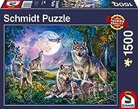 Wölfe Puzzle 1.500 Teile: Puzzle Standard