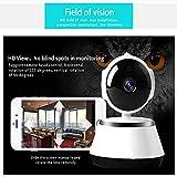 N-A Cámara IP 8Mp 4K Cámara de Seguridad para el hogar Cámara WiFi con Monitor de Audio de visión Nocturna por Infrarrojos Cámara IP 8Mp