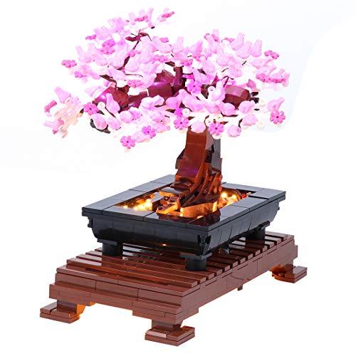 VenGo Ledverlichtingsset, decoratieve verlichting voor bonsai-boom, compatibel met Lego 10281 Creator (alleen led inbegrepen, geen Lego Kit)