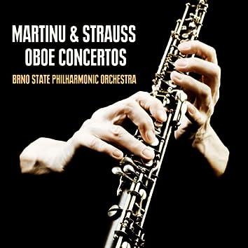 Martinu & Strauss Oboe Concertos
